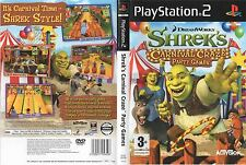 Shrek's Carnival Craze Party Games Playstation 2 PS2 PAL Brand New