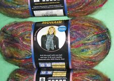 1 skein Moonlight Mohair Yarn Lion Brand  204 Rainbow Falls 5 bulky  lot 49353