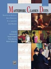 Masterwork Classics Duets, Level 1: A Graded Collection of Teacher-Student Piano