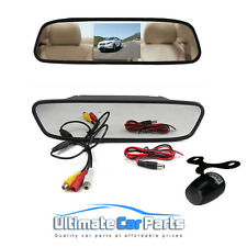 "4.3 ""AUTO Rear View MONITOR SPECCHIO + IR Impermeabile Auto Reverse Rearview Camera"