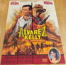 Affiche de cinéma : ALVAREZ KELLY de EDWARD DMYTRYK