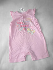 Baby Girls Clothes 12-18 Months - Cute Romper Suit Outfit -New-