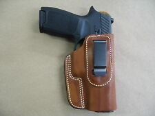Sig Sauer Compact 320 250 IWB Leather In Waistband Concealed Carry Holster TAN