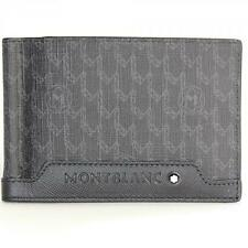 MONTBLANC SIGNATURE WALLET 6 WITH MONEY CLIP #107770