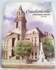 Crawfordsville A Pictorial History Indiana Wabash College Limited 1st Ed Book