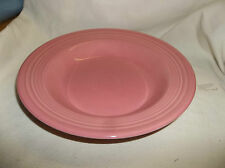 "Fiesta RIM SOUP / Small Pasta Bowl - 9"" - Retired Color - ROSE Pink"