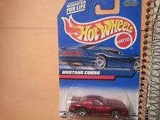 mustang cobra hot wheels 1999 1/64