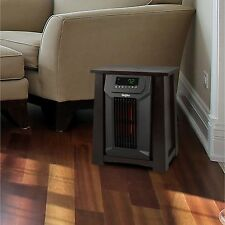 Lifesmart 8 Element Infrared Heater with Oscillating Louvers NEW