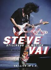 Steve Vai-STILL Ness in motion: vai Live in L.A. 2 DVD NUOVO