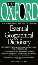 The Oxford Essential Geographical Dictionary Oxford University Press Mass Marke