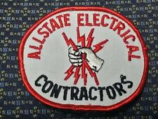 ALLSTATE ELECTRICAL CONTRACTORS Iron or Sew-On Patch EMBROIDERED