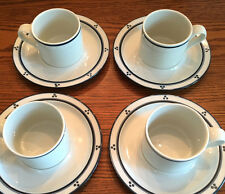 5 Dansk Bistro FREDRIKSBORG-BLUE CUP & SAUCER SETS Dots Japan~MORE PIECES AVAIL