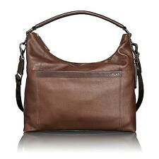 Tumi Brown Leather Centro Rialto Mobo Hobo Messenger Men's Bag 068610B RRP £499