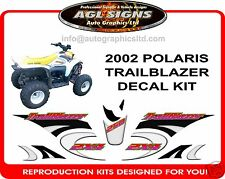 2002 POLARIS TRAILBLAZER , ATV 250 2X4  DECAL SET, reproduction