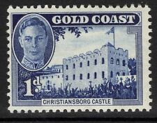 GOLD COAST SG136 1948 1d BLUE MTD MINT