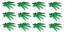 ☀️LEGO LOT OF 12 NEW GREEN 6 X 5 LEAVES SWORDLEAF PLANT PIECES