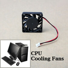 DC 12V 2 Pin Computer Cooler Brushless Cooling Fan PC Case Fan 40x40x13mm Black
