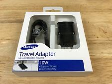 New Samsung Travel Charger Micro USB Adapter EP-TA12JBEUGUJ Black