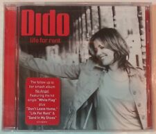 "LIFE FOR RENT by DIDO (CD, Sep-2003, USA - Arista) 11 Songs, BRAND NEW ""SEALED"""