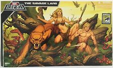 "Marvel Legends Savage Land Ka-Zar Shanna Frank Cho SDCC Exclusive 6"" Box Set MIB"