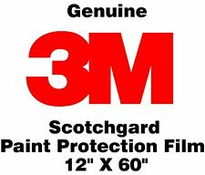 "Genuine 3M Scotchgard Paint Protection Film Clear Bra Bulk Roll Film 12"" x 60"""