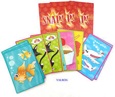 JUMBO SNAP CARDS FOR CHILDREN - FIRST CARD GAME FOR YOUNGSTERS