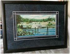 Nice Print / Painting / Photo  Pacific Northwest Ferry & Trees by Ryan Barnes