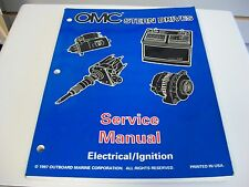 USED OMC STERN DRIVES SERVICE MANUAL ELECTRICAL / IGNITION 501200