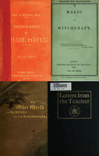 185 RARE BOOKS ON WITCHCRAFT, GHOSTS, OCCULT, DEMON, HYPNOTISM, ASTROLOGY ON DVD