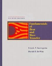 Fundamentals of Heat and Mass Transfer, 4th Edition by DeWitt, David P., Incrope