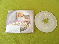 Madonna - What It Feels Like For A Girl - VERY RARE Israel Israeli Promo CD