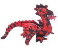 Nouveau sable critter flying dragon bleu et rouge à motifs 19cm animal Rondelle DR4