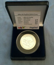 eBay / PayPal 2004 Coin .999% SILVER 0.43 oz MINT Uncirculated Brilliant