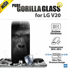 NEGO Pure Gorilla Glass 4 for LG V20 Tempered Glass Screen Protector Film 0.29mm