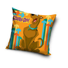 NEW LICENSED SCOOBY-DOO! orange cushion cover 40x40cm 100% COTTON