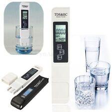 TDS LCD Digtal Medidor Temperatura Agua Pureza Dureza Filtro Tester EC Pen Stick