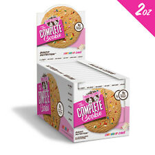 LENNY & LARRY'S COMPLETE HIGH PROTEIN COOKIE 113GX12 (BIRTHDAY CAKE) (VEGAN)