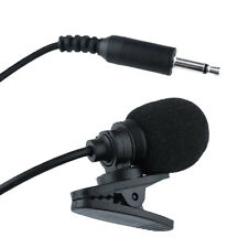 3,5mm Clip Mikrofon Microphone Mic für PC Laptop Notebook Audio Equipment Neu