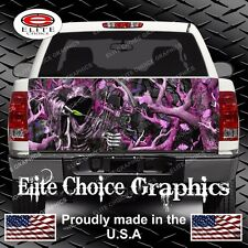 Bow Reaper Obliteration Pink Camo Truck Tailgate Wrap Vinyl Graphic Decal Wrap