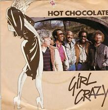 Hot Chocolate - Girl Crazy/Bed Games (Vinyl-Single 1982) !!!