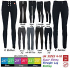 Girls School Trousers Black Grey Hipsters Sizes 6-16 Sexy Miss Sexies Miss Chief