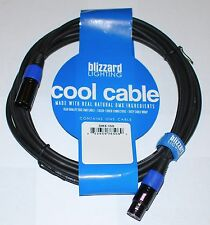 Blizzard Lighting Cool Cable DMX-15Q 15' 3 pin DMX cable
