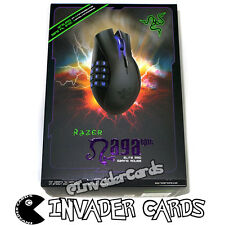 Razer Naga Epic Elite MMO Gaming Mouse Rechargeable Wireless Programmable Button