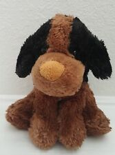 Dan Dee Plush Brown & Black Puppy Dog Super Soft Floppy Ear