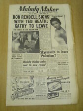 MELODY MAKER 1955 JULY 23 DON RENDELL TED HEATH KATHY LLOYD SKYROCKETS PALLADIUM