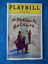 A Delicate Balance - Plymouth Playbill w/Ticket - Opening Nite - Apr. 21st, 1996