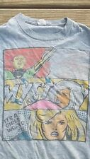 Rare Vintage Marvel Comics Shirt S Invisible Girl Superhero Jack Kirby Cosplay