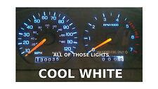 10 COOL WHITE T10 LED & SOCKETS INSTRUMENT PANEL CLUSTER DASH LIGHT BULB PC194