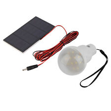 15W 150LM Portable Solar Energy Panel Lighting System Camping Bulbs Lamp OE
