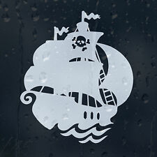 Ghost Pirate Ship Car Decal Vinyl Sticker For Window Bumper Panel